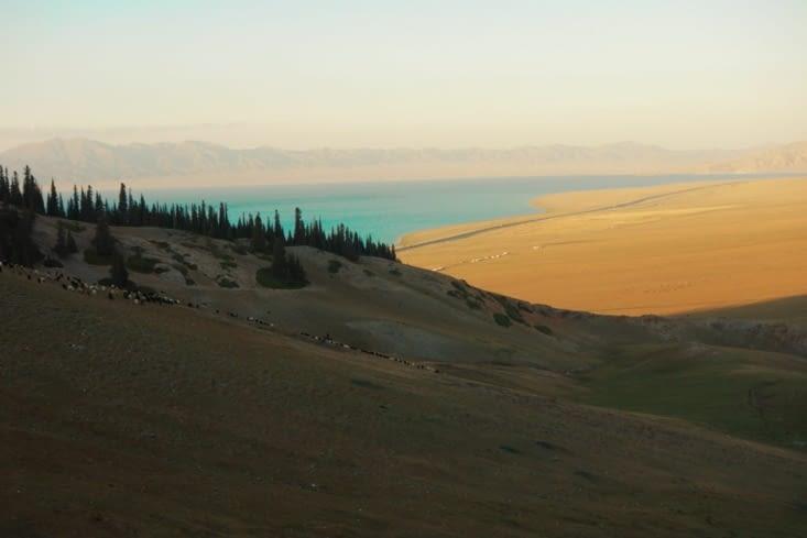 La vue sur le lac / The view on the lake