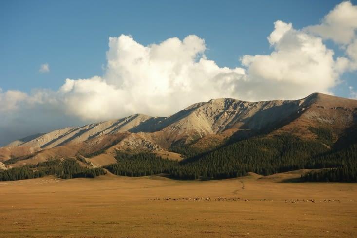 Les montagnes derrière nous / Mountains behind us