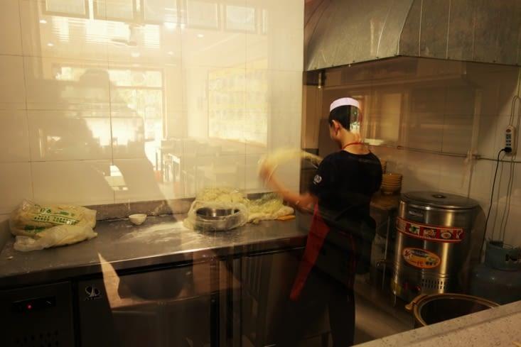 Nouilles faites main / Hand-made noodles