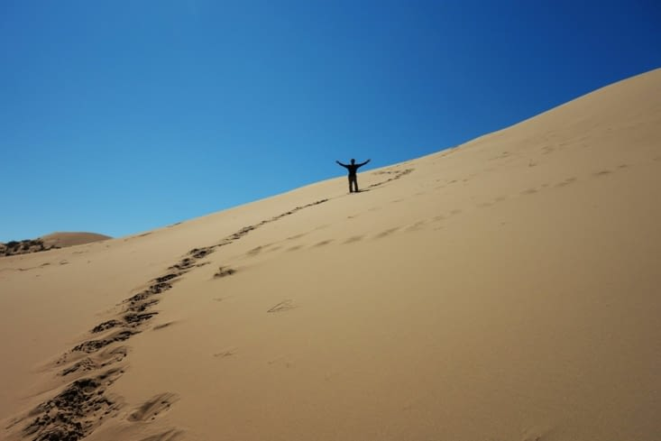 Sur la dune / On the dune