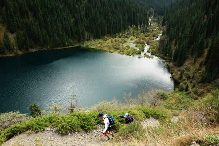 Le 1er lac / The 1st lake