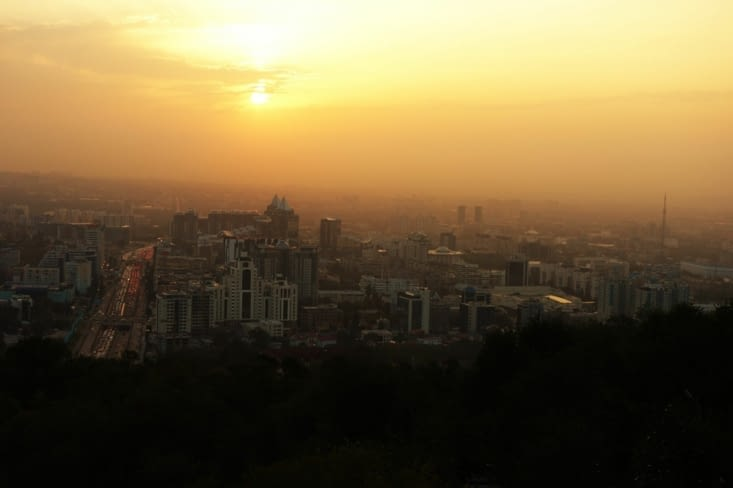 Coucher du soleil / Sunset