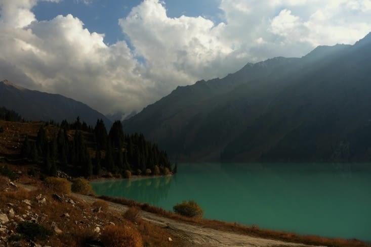 Grand lac d'Almaty / Big Almaty Lake