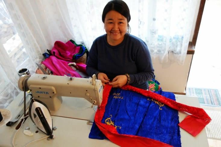 Fabrication de couvre-oreillers / Pillow cases production