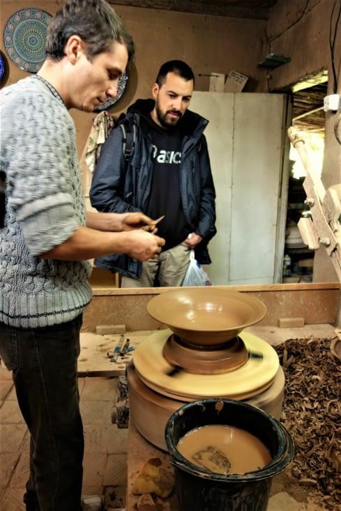 Demonstration de poterie / Pottery show