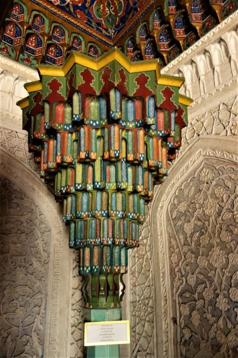 L'intérieur du palais / Inside the palace