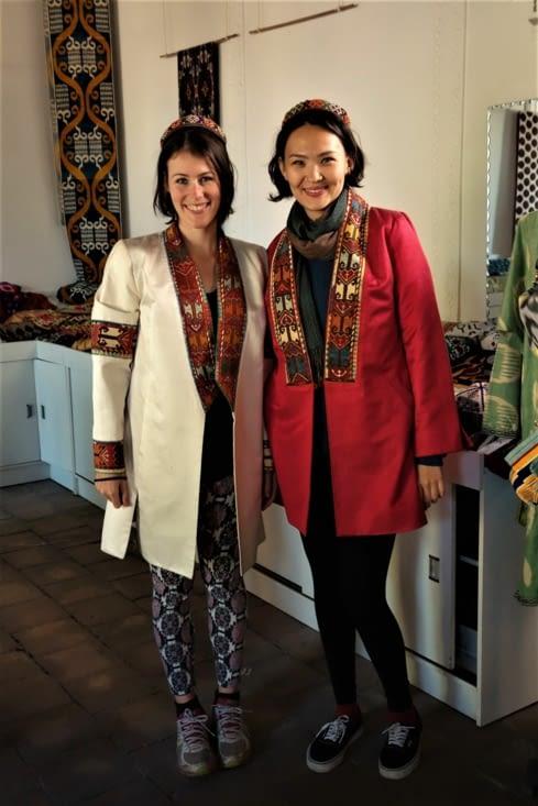 Style ouzbek / Uzbek style