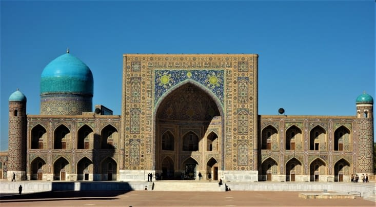 La madrassa d'Ulugh beg / Ulugh beg madrasa