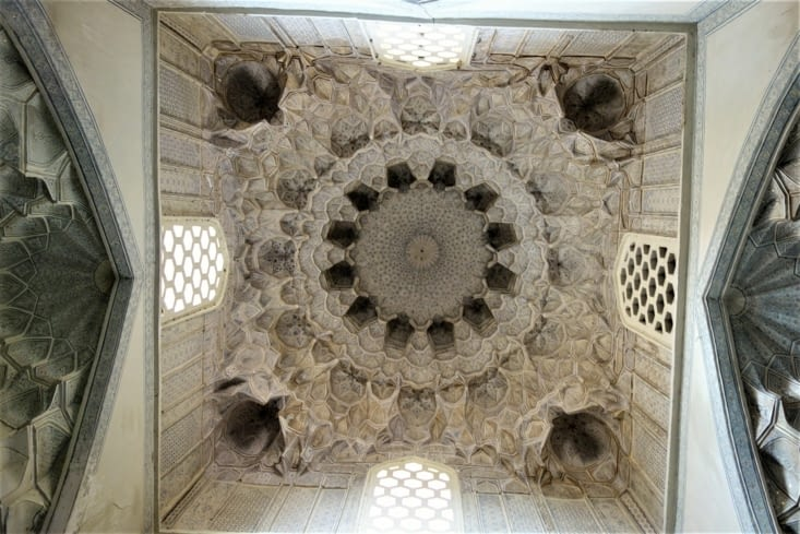 Le plafond de Chah-i-Zinda / Chah-i-Zinda roof