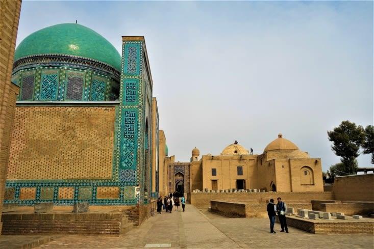 L'ensemble Chah-i-Zinda / Chah-i-Zinda memorial complex