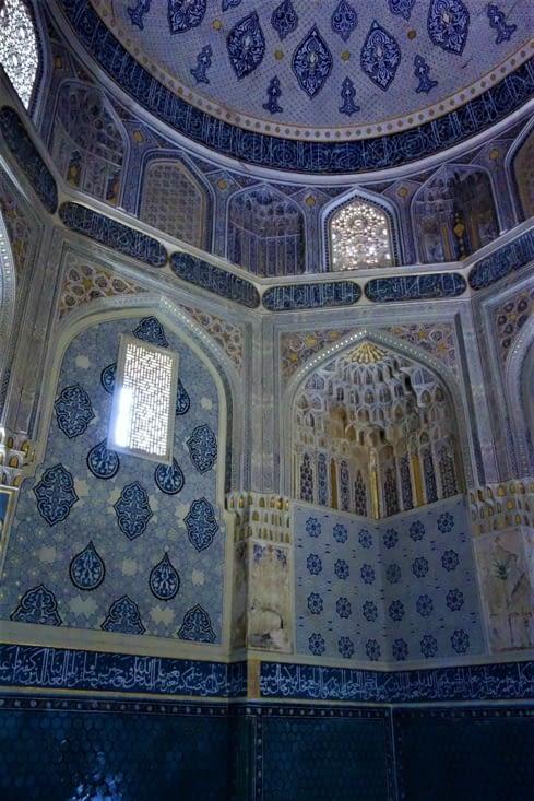L'intérieur d'un des mausolées / Inside one of the mausoleum