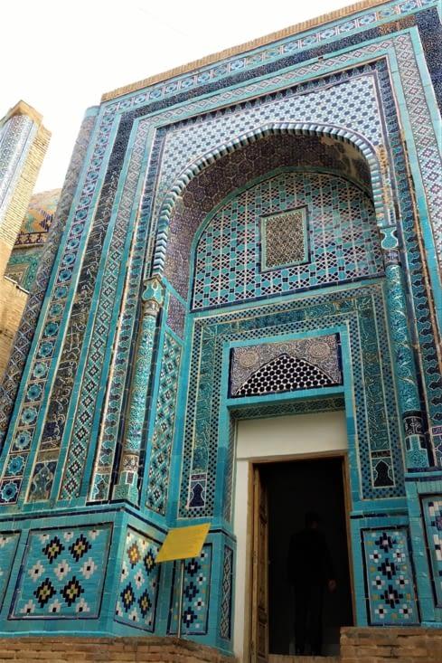 Porte d'un des mausolées / Door of one of the mausoleum