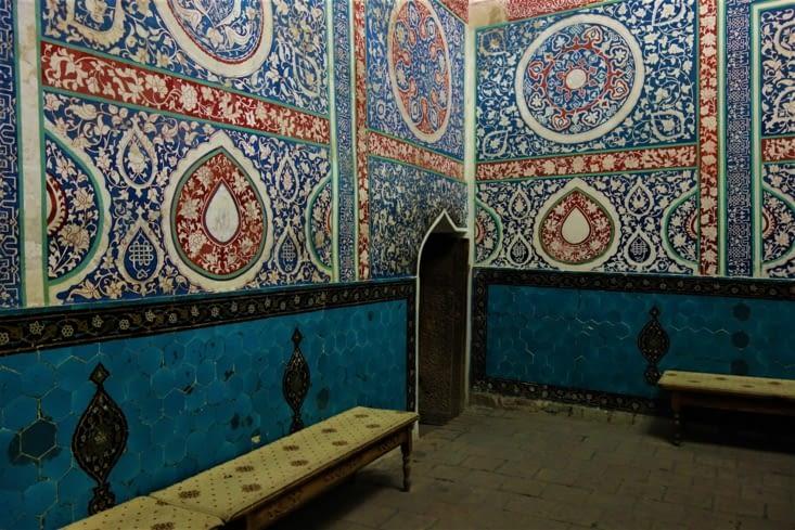 Salle de prières / Prayers room