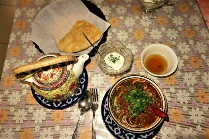 Soupe Ouzbek / Uzbek soup