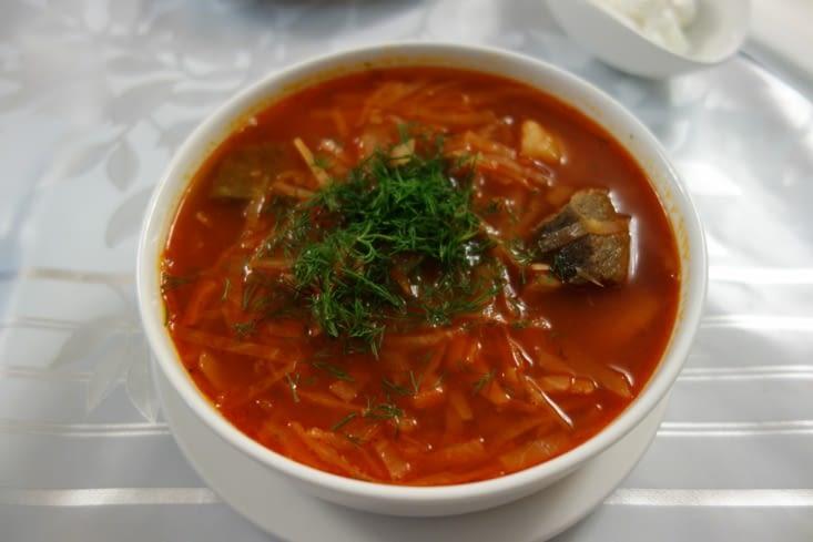 """Soupe """"Borsh"""" / Borsh soup"""