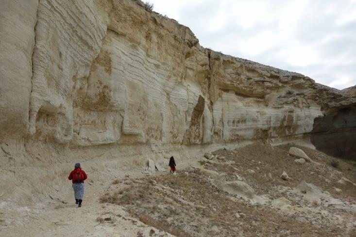 Le long de la falaise / Along the cliff