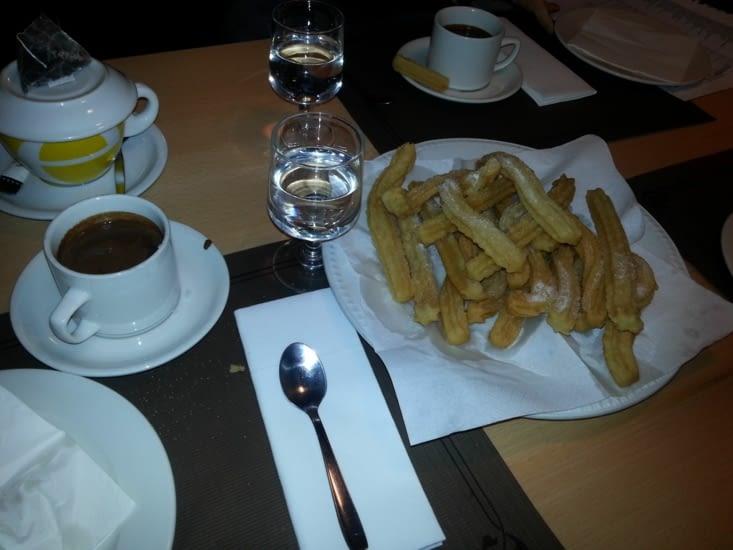 Chocolate con churros, c'est culturel ! Miam Miam !!!