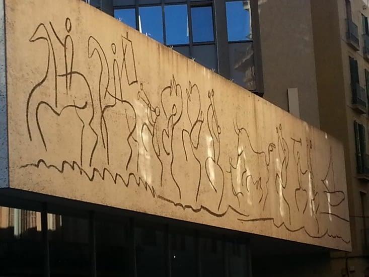Une fresque signée Picasso