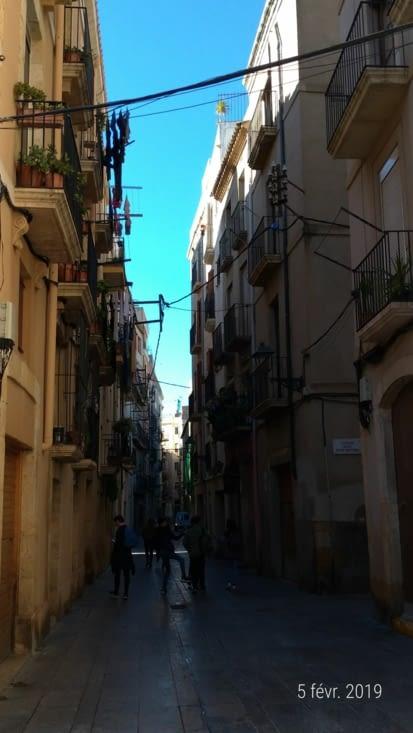 Et on arpente les ruelles étroites typiques de l'Espagne...