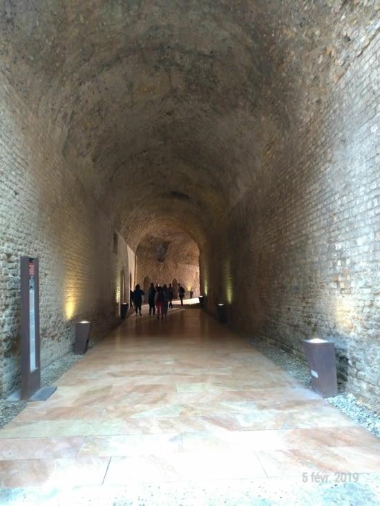 Les couloirs sous-terrains sont à explorer