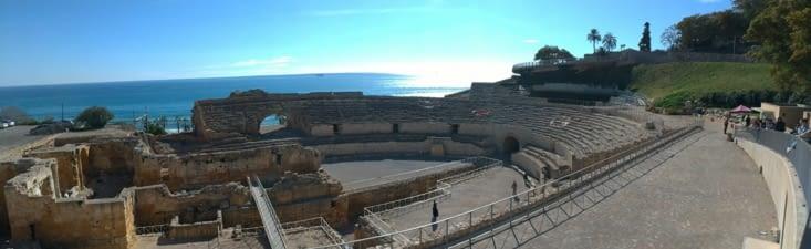 Nous allons visiter l'amphithéâtre romain