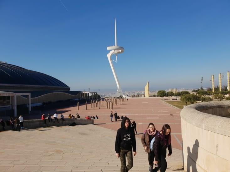 Le midi nous allons rejoindre le site olympique