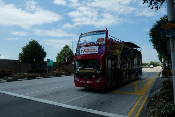 Pour le dernier jour de visite nous prenons le bus hop on hop off afin de voir un maximum de chose en une journée