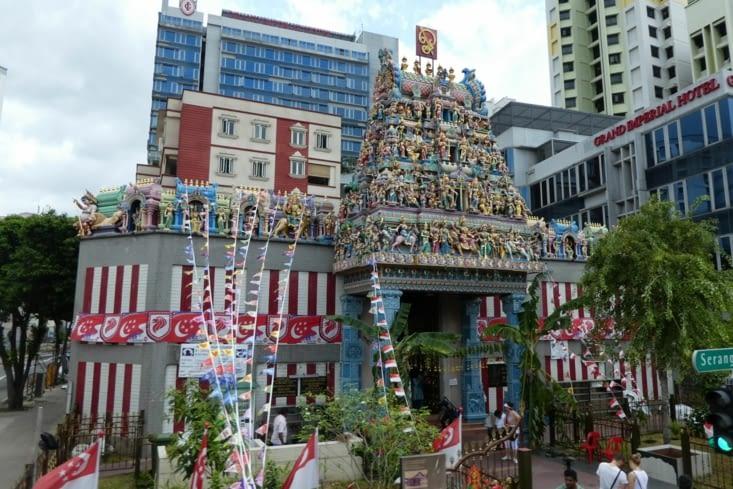 Temple hindouiste à Singapore