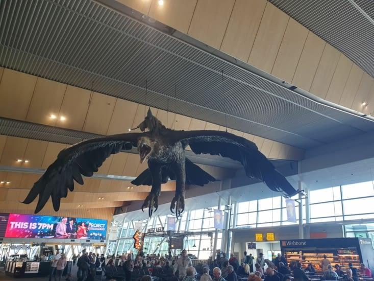 Hall d'arrivée de l'aéroport d'Auckland