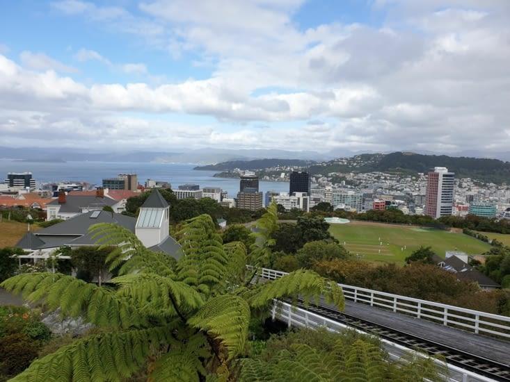 Vue de Wellington depuis les collines