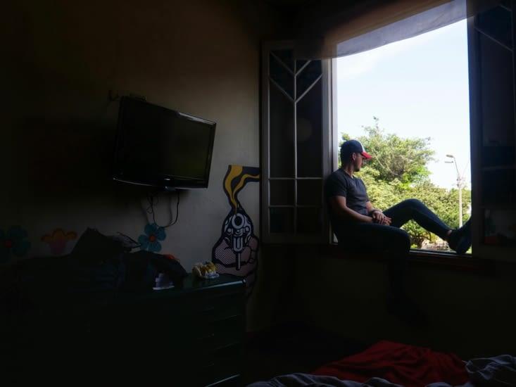 Ma chambre à l'auberge de jeunesse de Miraflores