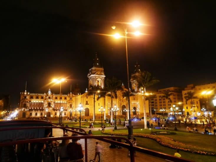 La Plaza Major de Lima