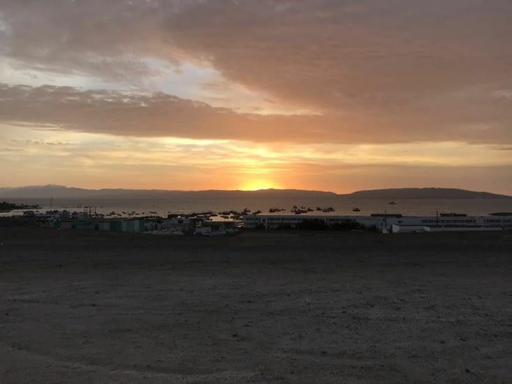 Sunset on Paracas