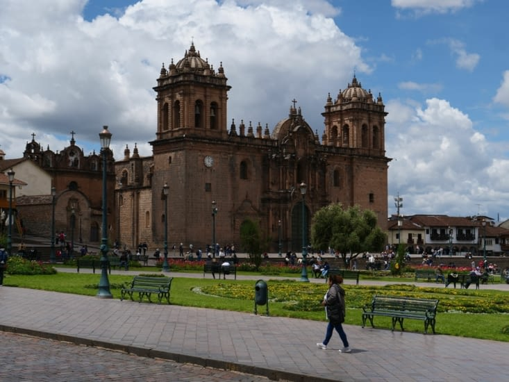 La plaza de Armas