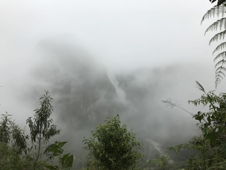 L'ascension dans les nuages
