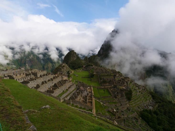 Welcome to the Machu Pichu