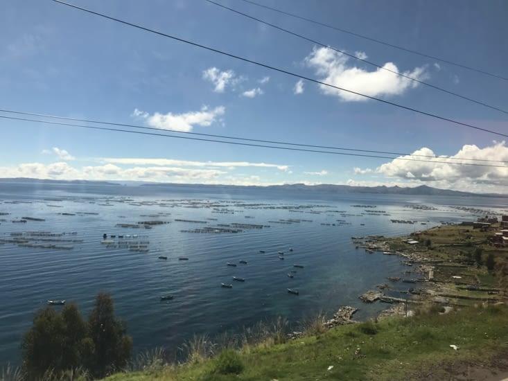 Les bords du Lac Titicaca