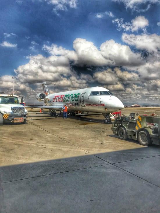 Petit avion d'une trentaine de places