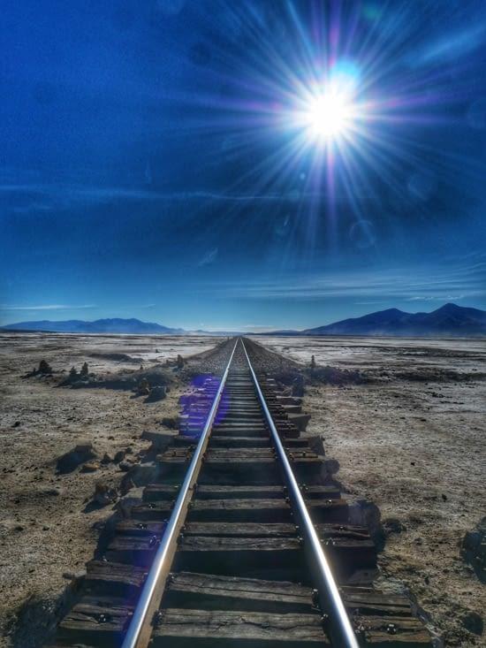 Ligne de chemin de fer entre la Bolivie et le Chili