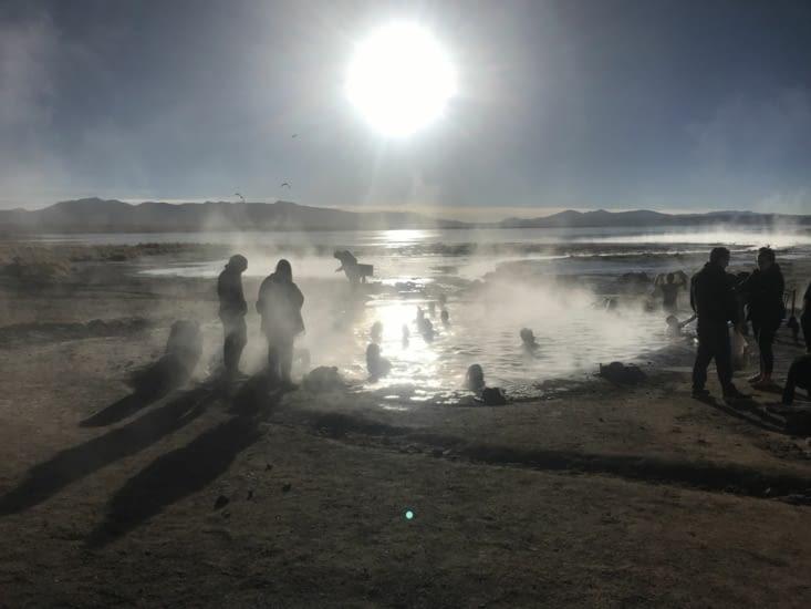 Les sources d'eau chaude