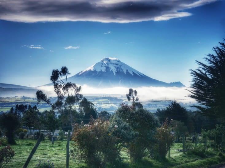 Le Volcan Cotopaxi
