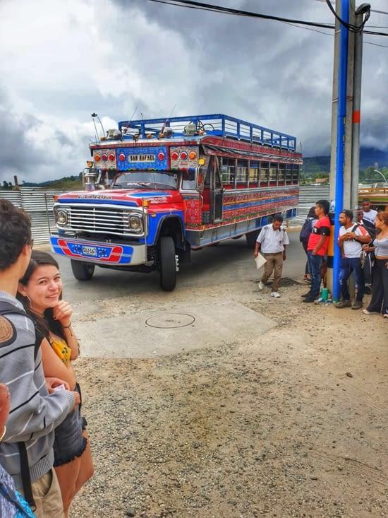 the Chiva bus