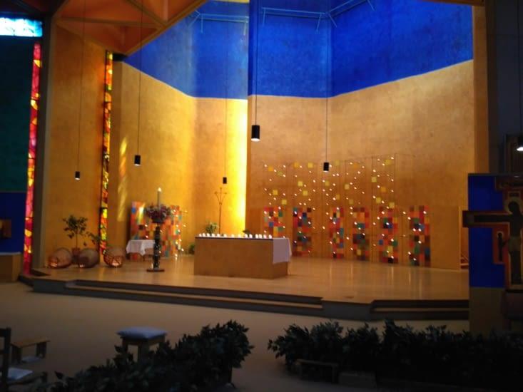 Eglise de la réconciliation de Taizé