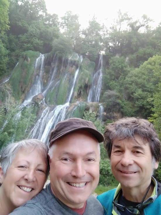 A la cascade de Glandieu