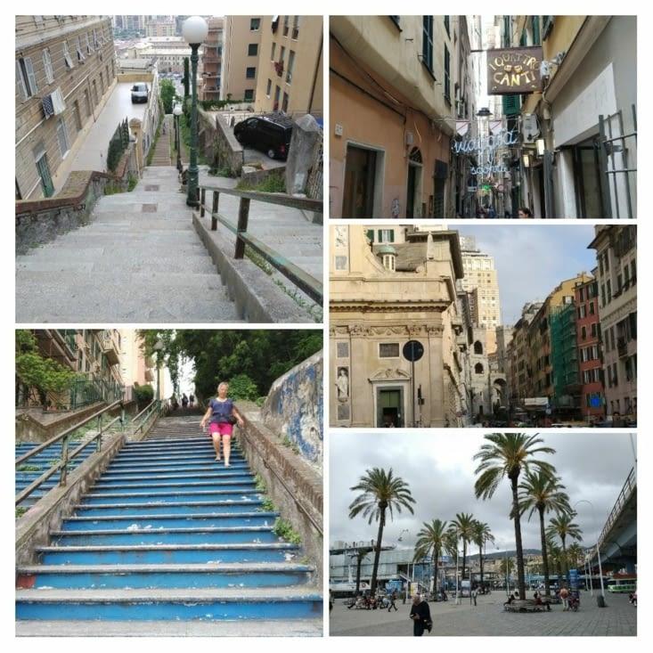 Visite de Gênes et ses rues pittoresques