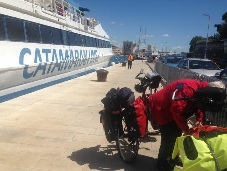 Arrivée à Zadar