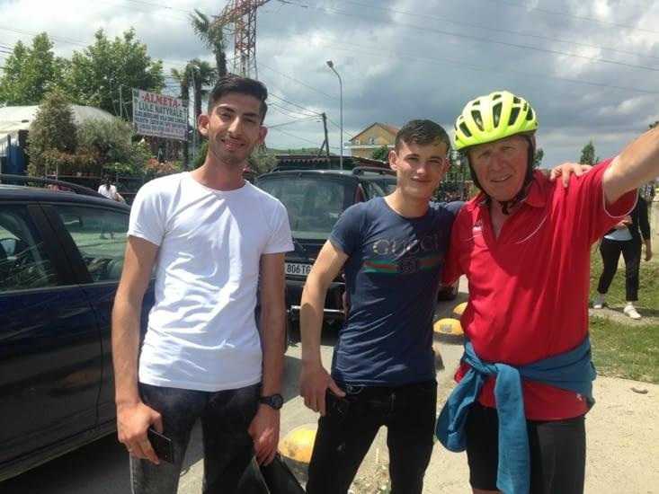 Notre ami albanais et son  copain