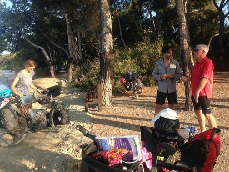 A la recherche du camping de Xilokastro