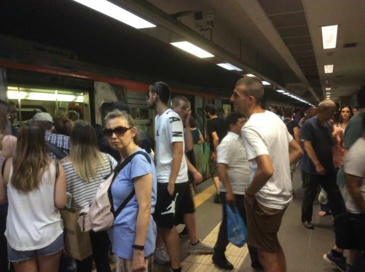 Athènes, le métro