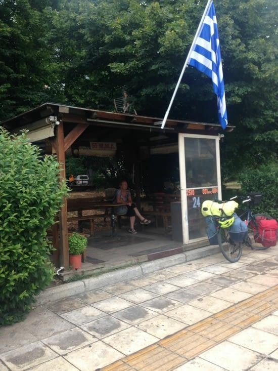 Ma cabane à Kavala